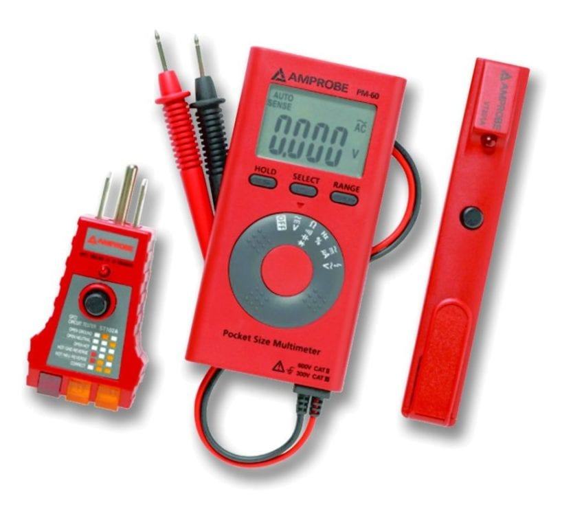 Electric Measuring Tools : Amprobe electrical test and measurement tools now at lowes