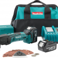 Makita LXMT025 18V LXT Li-ion Cordless Multi-Tool Kit Preview