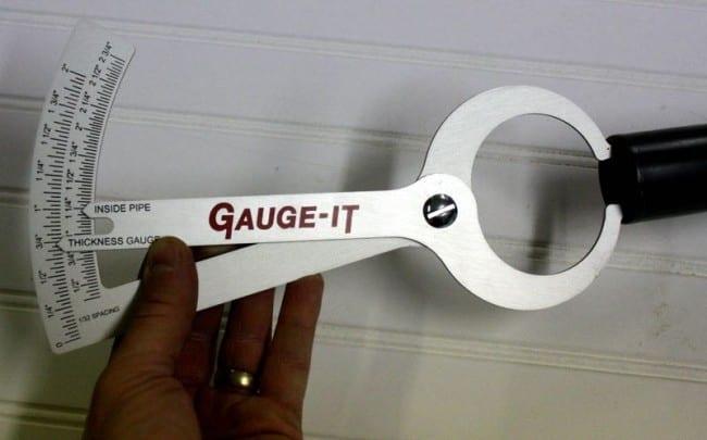 Gauge-It thickness gauge inside
