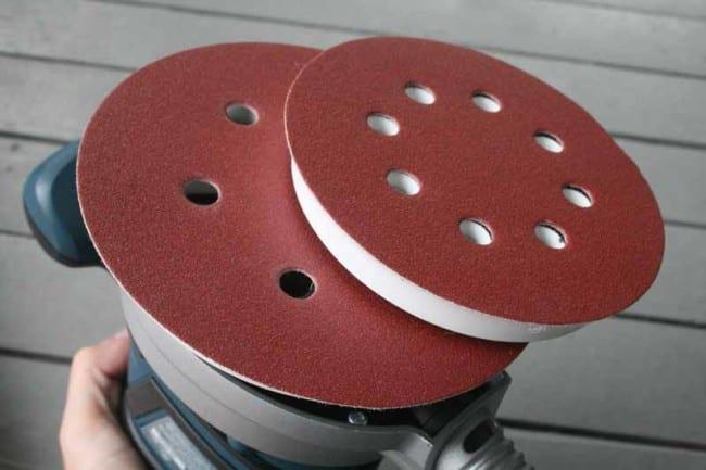 Bosch ROS65VC sanding pads