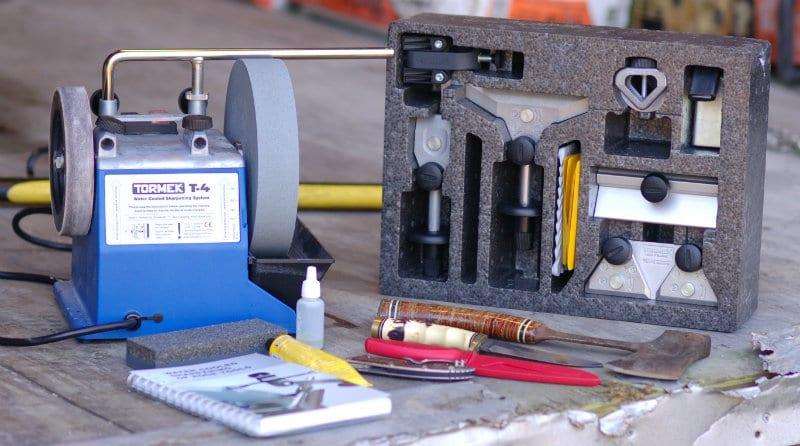 Tormek T 4 Water Cooled Sharpener Review