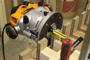 Triton TRA001 on Tool Hanger