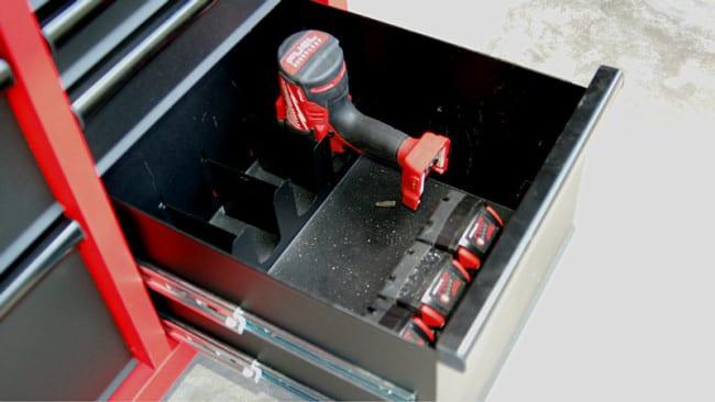 """Milwaukee 46"""" Tool Cabinet 48-22-8520 Power Tool Organizer"""