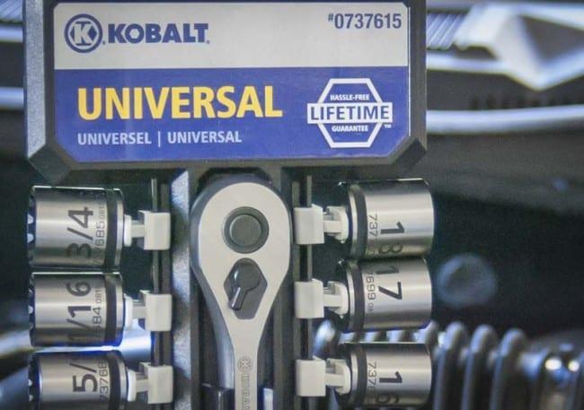 Kobalt Universal Sockets
