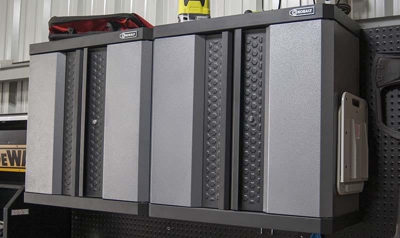 Kobalt Steel Wall Mount Garage Cabinet