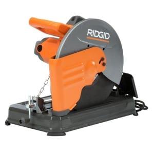 Ridgid 14-Inch Abrasive Cut Off Machine - Ridgid R4142 Locked Down