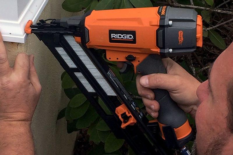 Ridgid R250afe 15 Gauge Angled Finish Nailer Ptr