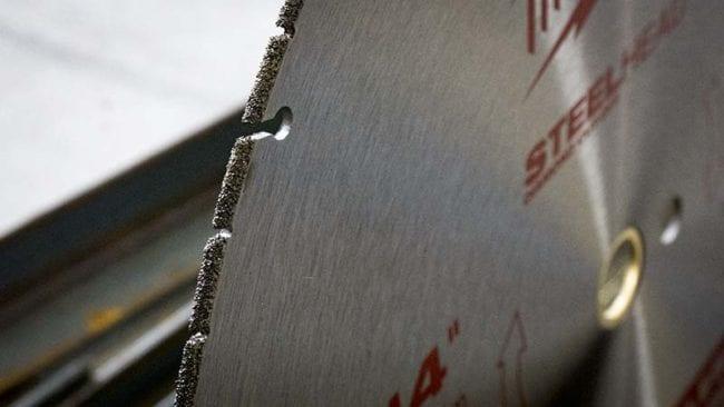 Milwaukee 14-Inch Steelhead Diamond Cut Off Saw Blade - Diamond Grit 2