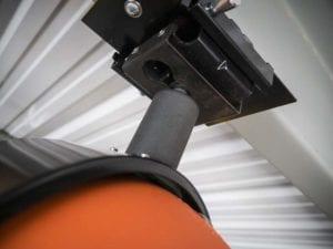 RoboReel air hose mounted