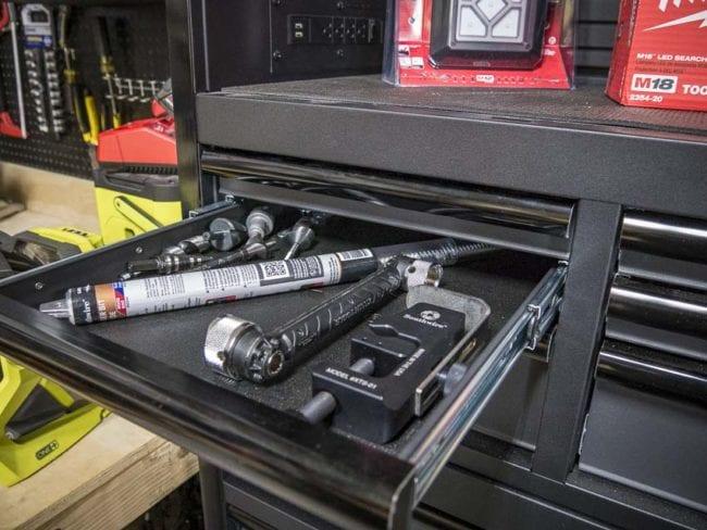 husky tool box drawer