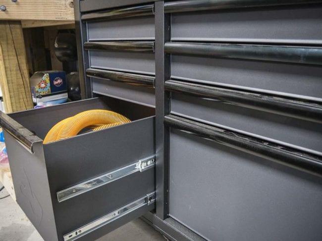 husky tool box tall drawer