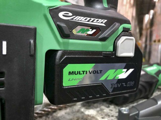 Hitachi MultiVolt Battery